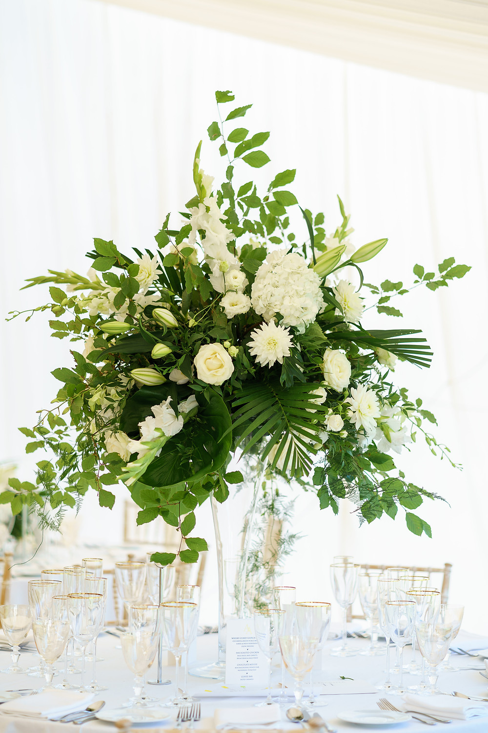 Botanical Wedding Arrangement | Greenery | Wedding Planners