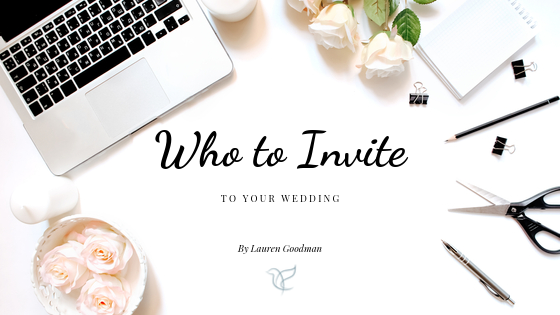 Who to invite to your wedding, guest list