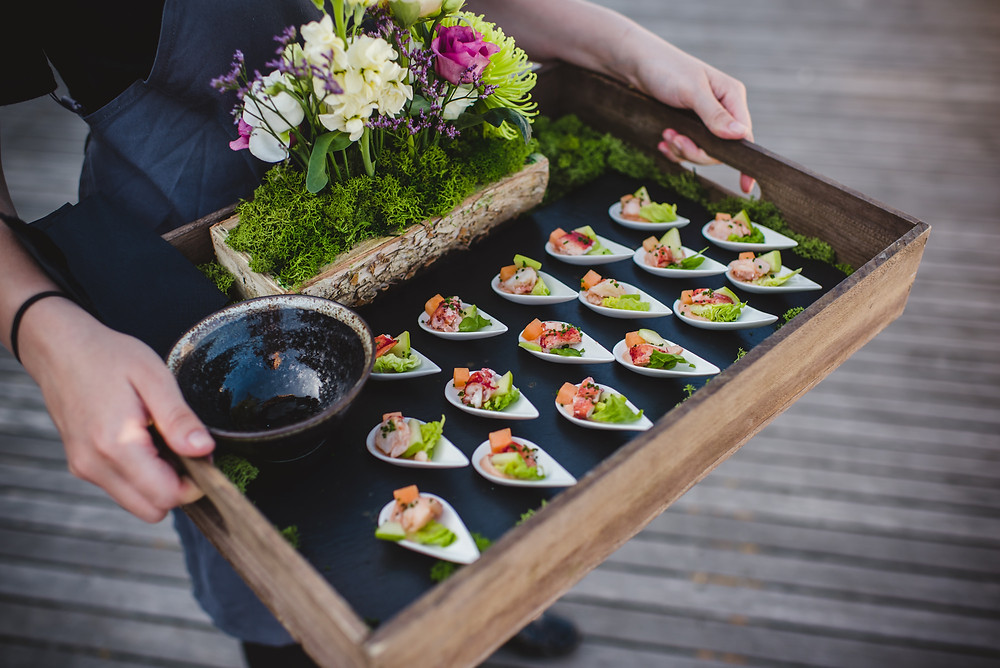 Canapes | Drinks Reception | Surrey Wedding Planners