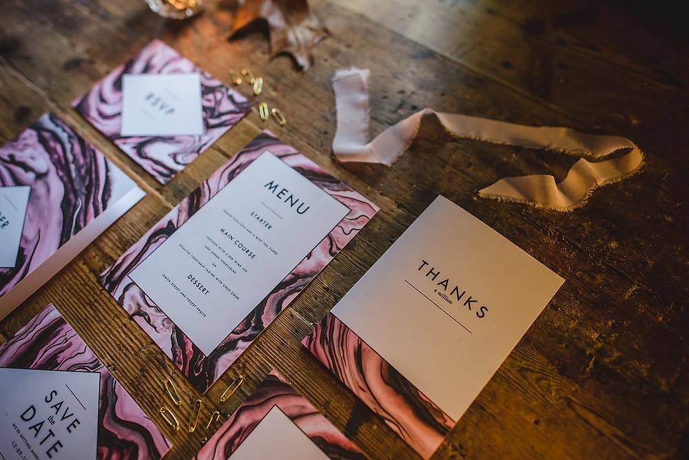 Wedding stationery | Surrey Planners