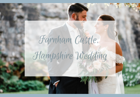 Farnham Castle, Hampshire Wedding