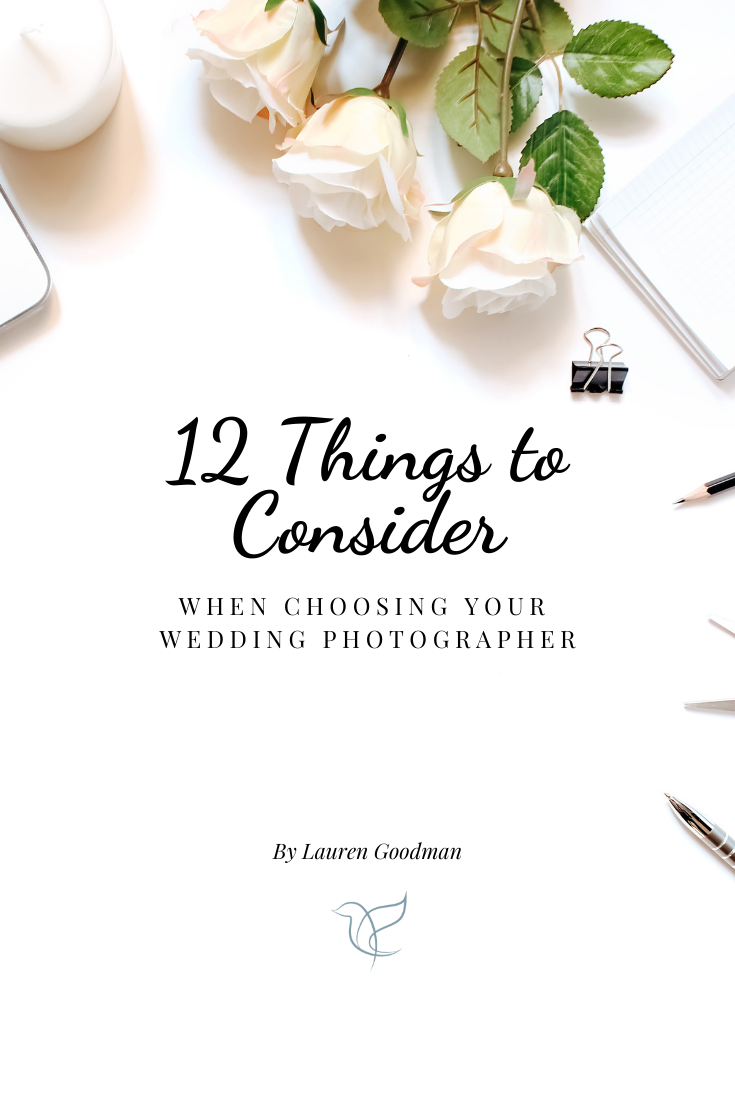 Questions to ask your wedding photographer before booking!