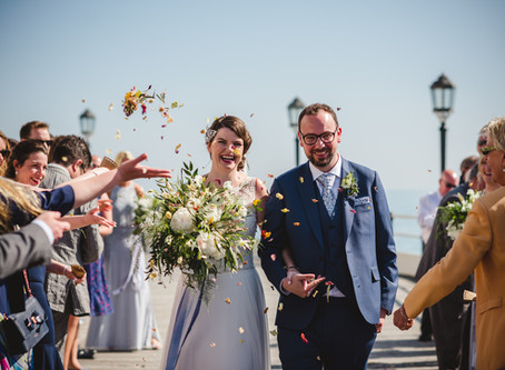 A UK Summer Seaside Wedding