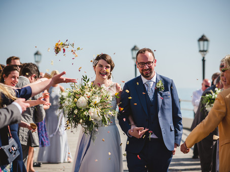 A UK Summer Seaside Wedding