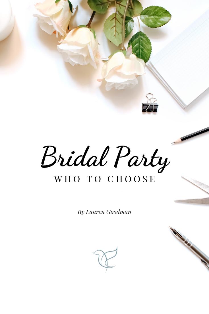 Choosing your bridesmaid | Bridal Party | Wedding Planning Tips | Wedding Planning Advice