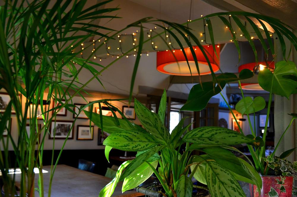 Red Lion Pub , Greenery, Christmas