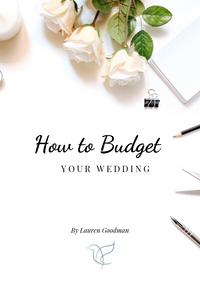 wedding budget, budgeting your wedding, Surrey wedding planner, on the day coordination