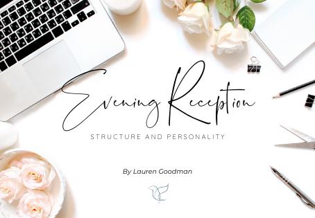 Planning Your Evening Wedding Reception