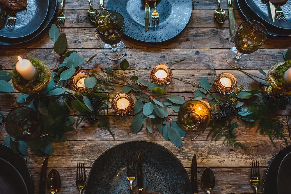 Autumn Tablescape | Winter Tablescape | Surrey | Uk