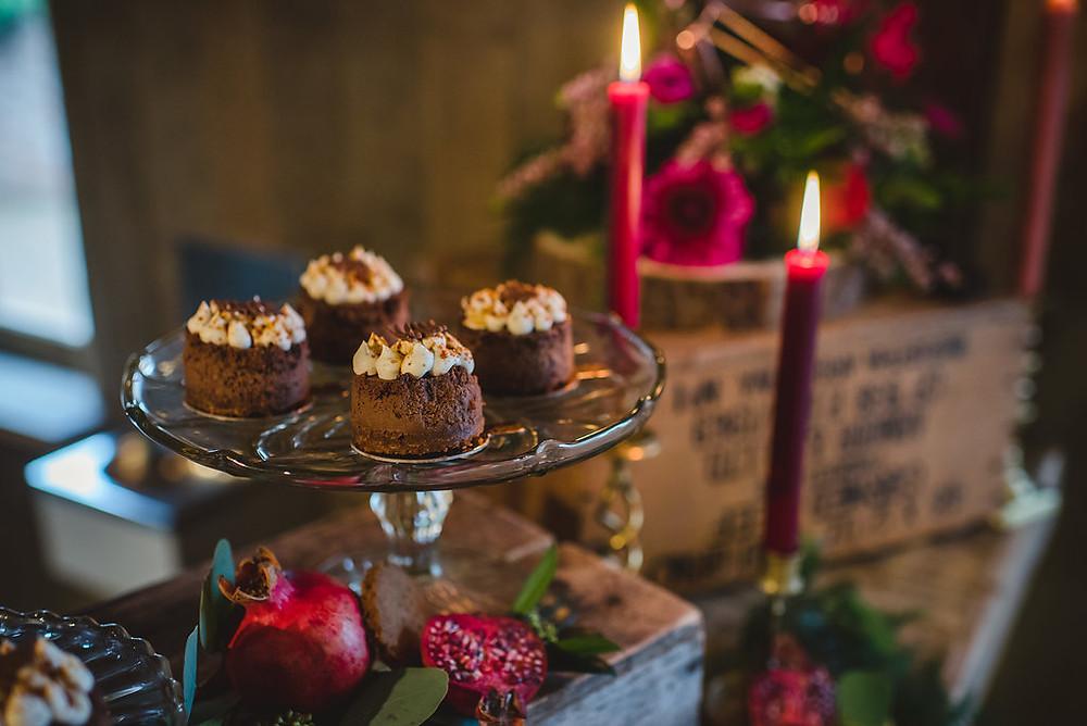 Marshmallow dessert | Stylist | Winter Wedding