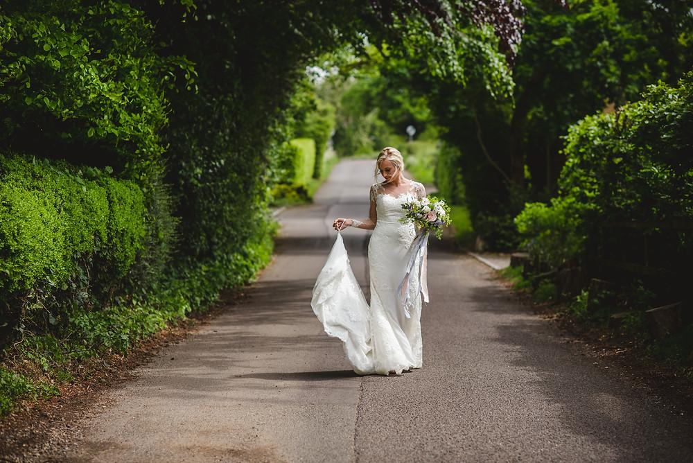 Greenery wedding photoshoot