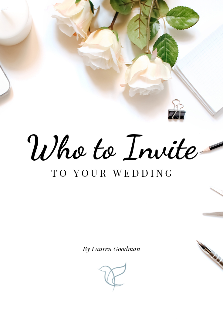Who To Invite To Your Wedding, Wedding Planning