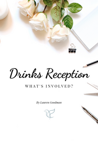 How to Plan your drinks reception | Wedding Planning Uk | Bride Academy