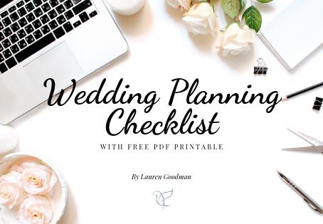 Your Uk Wedding Planning Checklist!!