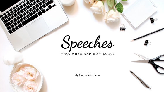 wedding speeches | Tips