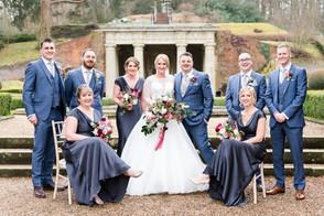 Corinne & Rich Wotton House Wedding Grou