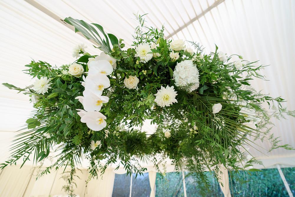 Floral Installation | Hanging Floral Chandelier