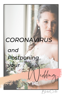 Not sure what to do about your wedding due to the current coronavirus pandemic? Here are a few words of wisdom, tips and advice to navigate this uncertain time and your wedding plans