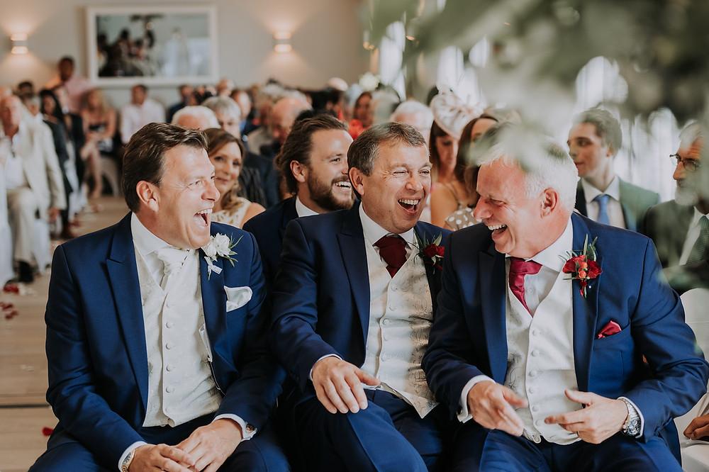 Navy suits | Surrey | Bluebird Creative Events