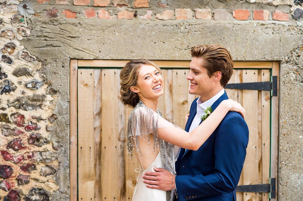 Elegant Bridal Gown, Surrey