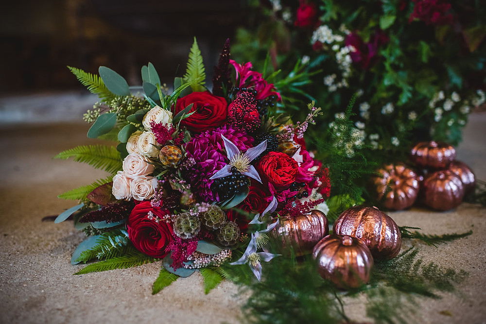 Copper Styling | Hampshire | Surrey | wedding flowers