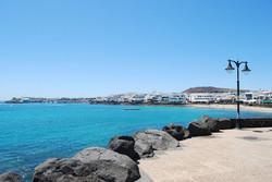 Promenade at Playa Blanca