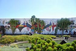Garden at Cesar Manrique Foundation