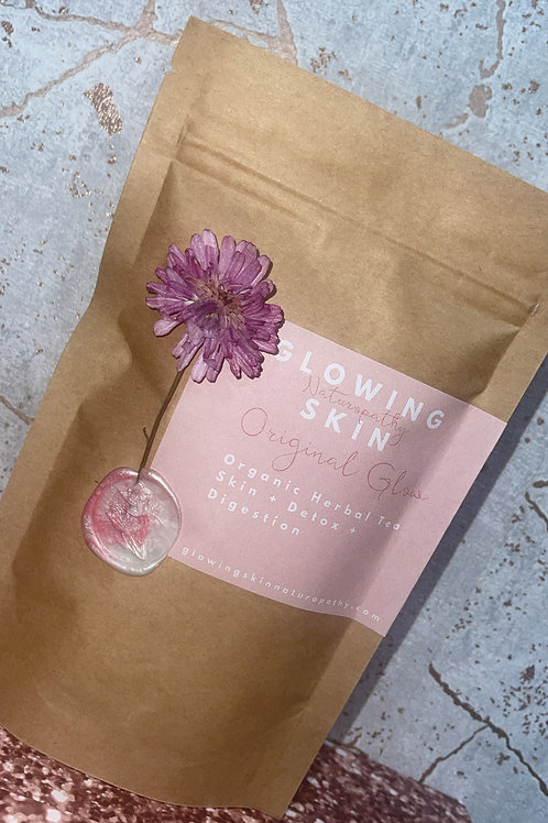 Organic Herbal Tea for Skin+Detox+Digestion