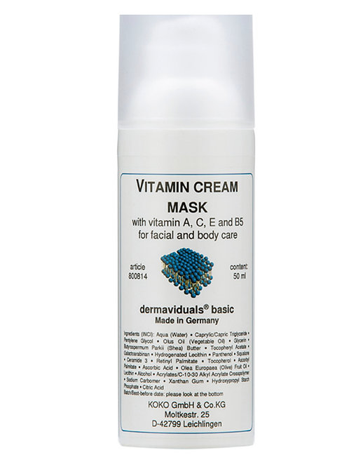 Vitamin Cream Mask
