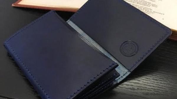 ルガトショルダーを使用した名刺も入る本革製レザーカードケース