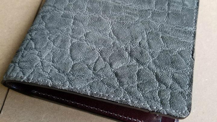 象皮 2つ折り財布