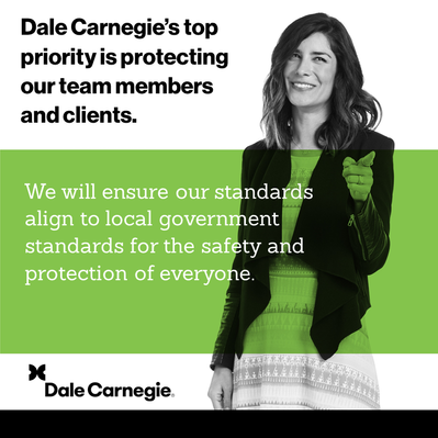 Dale Carnegie Commitment to You during COVID-19