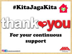 Thank you KiaJagaKita