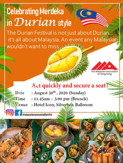 Durian Festival flyer