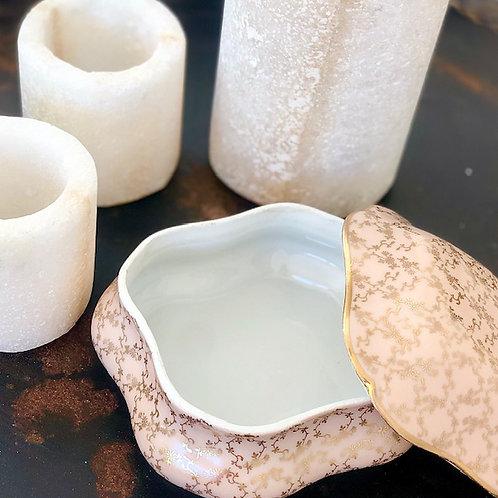 HYGGE - Petit porcelain jar with lid