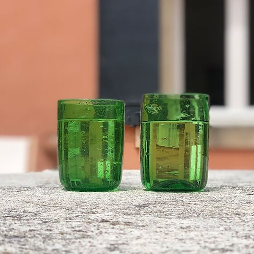 Sustainable green glasses