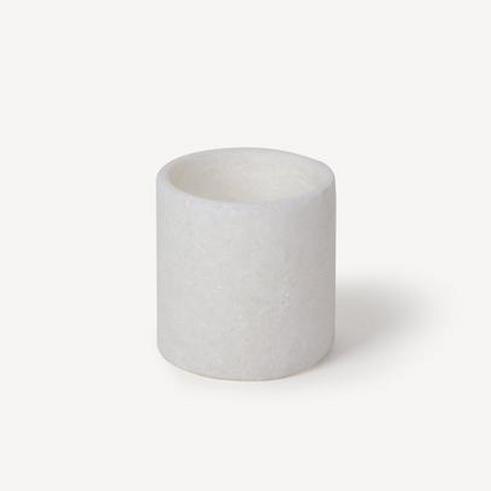 Alabaster Stone Candleholder
