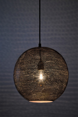 hygge lamp black with holes