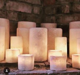 salt candle holders