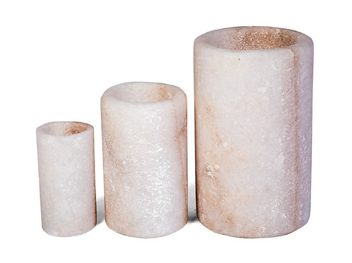 Salt Rock Candleholders