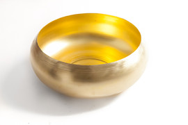 Hygge Brass bowl