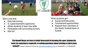 Put Gaelic Football in Your School