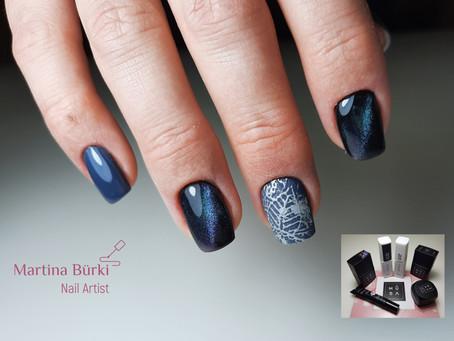 Catey Nails mit Stamping Nailart.. mit Produkte von Mūsa