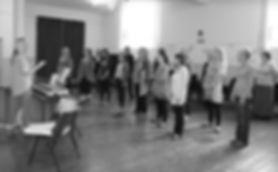 Ronstars Group Singing Rehearsals