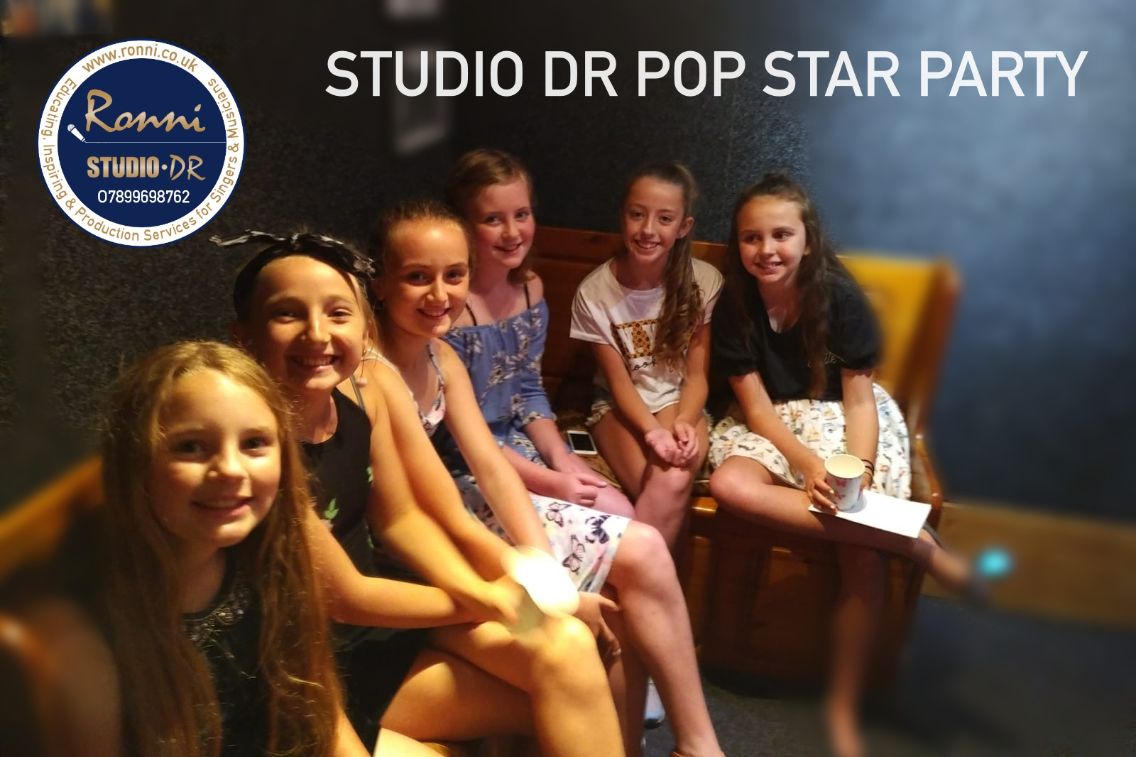 Pop Star Recording Party
