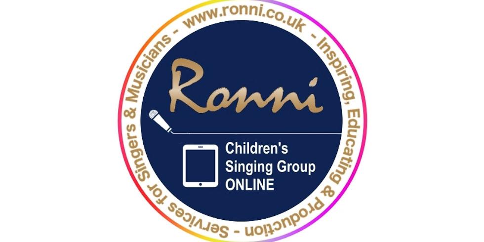 FREE Online Childrens Singing Session
