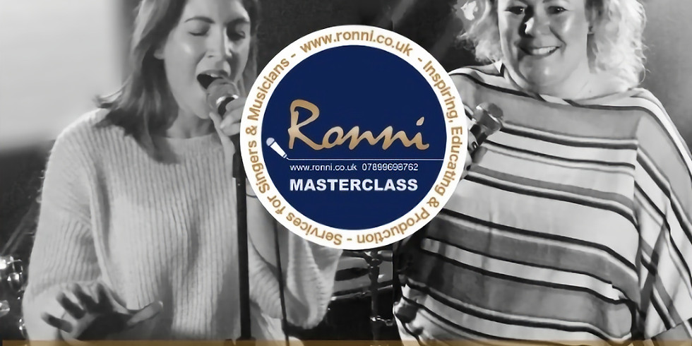 Performers Masterclass  Adults - Registration OCTOBER 2019