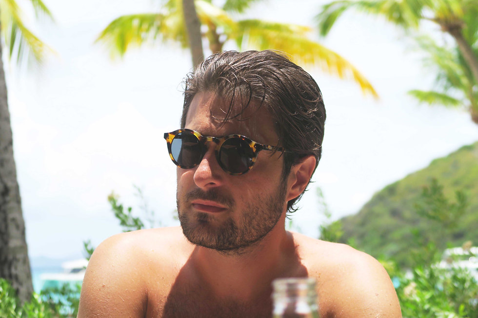Alexander Wilton Sunglasses. Havana Classic. Polarized and UV protection