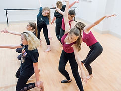 Contemporary Dance Clas at ReAct Academy of Theatre Arts