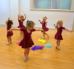 Ballet Class at ReAct Academy of Theatre Arts